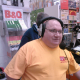 Andy broadcasting at B&Q in Sutton-in-Ashfield